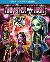 Monster High: Freaky Fusion ( Blu-ray-DVD-Digital Download) 2014 09-30-14 Release Date