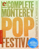 Monterey Pop Festival 1967: (Blu-ray) 2009 DTS-HD Master Audio 2 Discs Criterion Collection