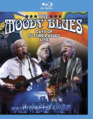 Moody Blues: Days Of Future Passed Live 50th Anniversary Tour Toronto 2017 (Blu-ray) DTS-HD Master Audio 2018 Release Date 3/23/18