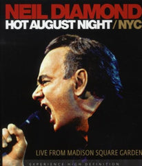 Neil Diamond: Hot August Night/NYC Madison Square Garden 2008 DVD 2010 16:9 DTS 5.1
