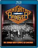 Night Ranger: 35 Years And A Night In Chicago 2016 (Blu-ray) 2016 DTS-HD Master Audio 12-02-16 Release Date