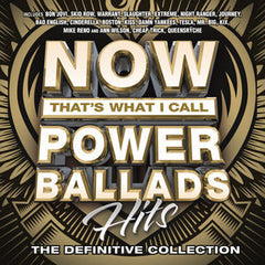 Now That's What I Call Power Ballads  Pop Metal bands of the 80s  CD 2016 -02-05-16 Release Date