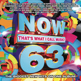 Now, Vol. 63: That's What I Call Music (Various Artists) on CD 2017 08-04-17 Release Date -22 Hit Tracks