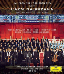 Orff: Carmina Live From The Forbidden City (Blu-ray) DTS-HD Master Audio 5.1 2019 Release Date 2/1/19