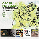 Oscar Peterson: 5 Original Albums (Plays Count Basie (1956) - A Jazz Portrait Of Frank Sinatra (1959) - The Jazz Soul Of Oscar Peterson (1959) - Plays Porgy & Bess (1959) - West Side Story (1962) Boxed Set, 5PC) CD 2018 Release Date 6/29/18
