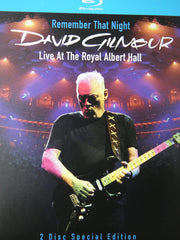 David Gilmour: Remember That Night Live At The Royal Albert Hall 2007 [2 Blu-ray Deluxe Edition] (2010) DTS-HD Master Audio