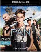 Pan [4K Ultra HD + Blu-ray + Digital HD]  (Ultraviolet Digital Copy, 2 Pack, Digitally Mastered in HD, 2PC) 2016 03-01-16 Release Date