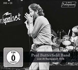 Paul Butterfield Band: Live At Rockpalast 1978 CD/DVD 2019 Release Date 5/10/19