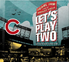 Pearl Jam: Let's Play Two 2016 Wrigley Field Deluxe Edition CD/DVD 2017  Release Date 11/17/17