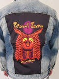 Pearl Jam Tiki Torch Blue Jean Jacket  (Medium-Large-XL)- 2018
