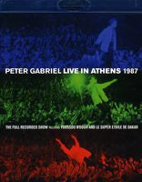 Peter Gabriel: Live In Athens 1987 (Blu-ray) 2013 DTS-HD Master Audio 2 Disc Edition
