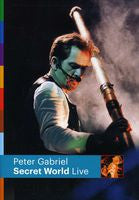 Peter Gabriel: Secret World Live 1993 DVD 2012 16:9 DTS 5.1