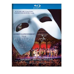 The Phantom Of The Opera: 25th Anniversary Of Andrew Lloyd Webber's At The Royal Albert Hall  (Blu-ray) 2012 DTS-HD Master Audio