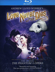 The Phantom Of The Opera : Andrew Lloyd Webber's Love Never Dies (Widescreen, Digital Theater System (Blu-ray) 2012 Release Date: 5/29/2012