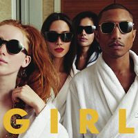 "Pharrell Williams: GIRL CD 2014 Hip-Hop Featuring Hit Single ""Happy"""