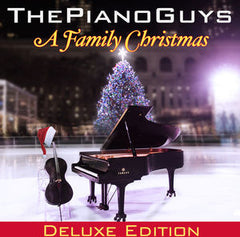 The Piano Guys: Piano Guys: A Family Christmas Deluxe Edition 2013 CD/DVD