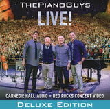 The Piano Guys: Carnegie Hall Live+Red Rocks Concert Video 2015 PBS Deluxe CD/DVD Edition 2015 DTS 5.1
