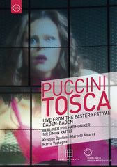 Puccini: Berliner Philharmoniker Tosca DVD Classical Release Date: 10/27/2017