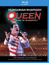 Queen: Hungarian Rhapsody -Live In Budapest 1986 (Blu-ray) 2012 DTS-HD Master Audio 96kHz/24bit