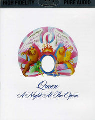 Queen: A Night At The Opera Blu-ray 2013 High Fidelity Pure Audio Only 96kHz/24bit DTS-HD Master Audio Includes Digital Download RARE IN STOCK 8/27/17