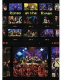 Ringo Starr & His All Star Band: Ringo At The Ryman 2012 DVD 2013 16:9 DTS 5.1