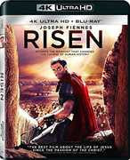 Risen: 4K Ultra HD (Ultraviolet Digital Copy, Widescreen, Dolby, AC-3, Dubbed) Starring: Joseph Fiennes, Tom Felton, Peter Firth 2016 06-14-16 Release Date
