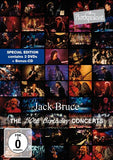 Jack Bruce: Rockpalast The 50th Birthday Concerts  (CD/3 DVD) 2014 Release Date 12/16/14
