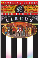 The Rolling Stones:  Rock and Roll Circus 1968  4K Mastering O-Card Packaging (Blu-ray) Dolby Atmos 2019 Release Date 6/28/19
