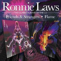 Ronnie Laws: Friends & Strangers/Flame 2 CD 2 Albums 2010 Import