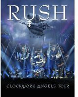 Rush: Clockwork Angels Tour 2012 2 DVD Deluxe Edition 2013 16:9 DTS-HD 11-19-13