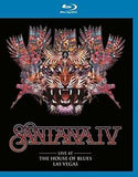 Santana: Santana IV Live At House Of Blues Las Vegas 2016 (Blu-ray) Import 2016 DTS-HD Master Audio Release Date 10-28-16