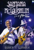 Santana & McLaughlin: Live At Montreux Invitation To Illumination 2011 DVD 2013 16:9 DTS 5.1