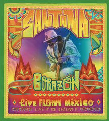 Santana: Corazon: Live From Mexico-Live It to Believe It 2014 HBO Special Deluxe Edition DVD/CD 2014