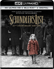 Schindler's List (25th Anniversary Edition) (With Blu-ray, Anniversary Edition, 4K Mastering, 3 Pack, Digital Copy) Format: 4K Ultra HD Rated: R Release Date: 12/18/2018