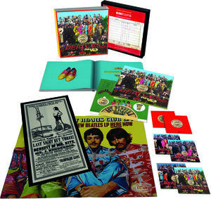 Beatles Sgt Pepper S Lonely Hearts Club Band 1967 50th