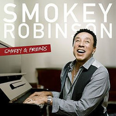 Smokey Robinson & Friends: Smokey & Friends R&B CD 2014 Features collaborations with Elton John, Steven Tyler, Mary J. Blige, James Taylor & John Legend