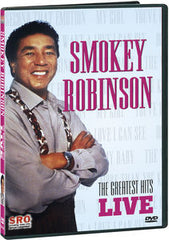 Smokey Robinson: Greatest Hits Live Desert Inn Las Vegas Guest Stevie Wonder  DVD 2007 Dolby Digital Stereo 84 Minutes