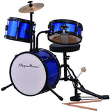Spectrum AIL610B Junior Drum Kit Blazin' Blue (Blue) 2017 Free Shipping USA