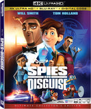 Spies In Disguise (4K Ultra HD+Blu-ray+Digital) 4K Ultra HD Rated PG 2020 Release Date 3/10/20