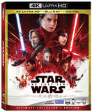 Star Wars: Episode VIII: The Last Jedi 4K Ultra HD-Blu-Ray-4K Mastering-Collector's Edition Rated 2018 Release Date 3/27/18