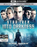 Star Trek Into Darkness: 4K Ultra HD  (Widescreen, Dubbed, Subtitled, AC-3, Dolby) Starring: Chris Pine, Zachary Quinto, Zoe Saldana 2016 06-14-16 Release Date
