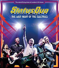 Status Quo: Last Night Of The Electrics 2016 Import (Blu-ray) 2017 7-21-17 Release Date