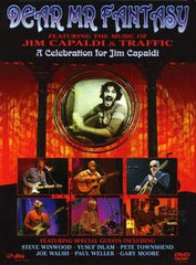 Dear Mr. Fantasy: Celebration For Jim Capaldi Camden Town, London 2007 DVD 16:9 DTS 5.1 Steve Winwood Cat Stevens Joe Walsh-Pete Townsend & Gary Moore....VERY RARE