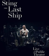 Sting: The Last Ship PBS Special Great Performances DVD 2014 16:9 Dolby Digital 5.1 09-23-14 Release Date