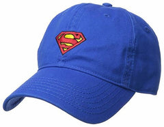 Superman Logo Blue Adjustable Baseball Cap (Hat, Royal Blue) 2018