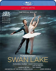 Tchaikovsky: Swan Lake The Royal Ballet (Blu-ray) DTS-HD Master Audio 2019 Release Date 5/24/19