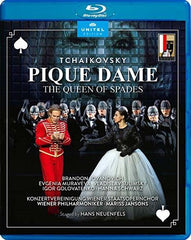 Tchaikovsky: Pique Dame The Queen Of Spades  (Blu-ray) DTS-Master Audio 2019  Release Date 6/28/19