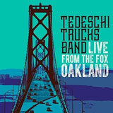 Tedeschi Trucks Band Live From The Fox Oakland 2017 (2CD/Blu-ray Deluxe Edition) DTS-HD Master Audio Release Date  03/17/17