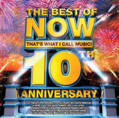 The Best Of Now That's What I Call Music: 10th Anniversary CD 2008  Pink, Katy Perry, Jay-Z, Rihanna ,Kanye West , Justin Timberlake, Lil Wayne, Static Major, Ja Rule, Jennifer Lopez, Wyclef Jean, Shakira, Amy Winehouse etc...