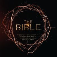 The Bible: Official Score Soundtrack TV Miniseries CD 2013 Composer Hans Zimmer, Lorne Balfe & Lisa Gerrard